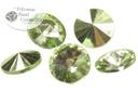 Potomac Crystal Rivoli - Seafoam Metallic Ice 10mm (pack of 25)