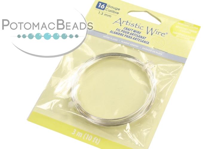 Artistic Wire 16g Non-Tarnish Silver