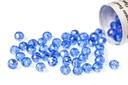 Potomac Crystal Rondelle Beads - Light Sapphire AB 2x3mm