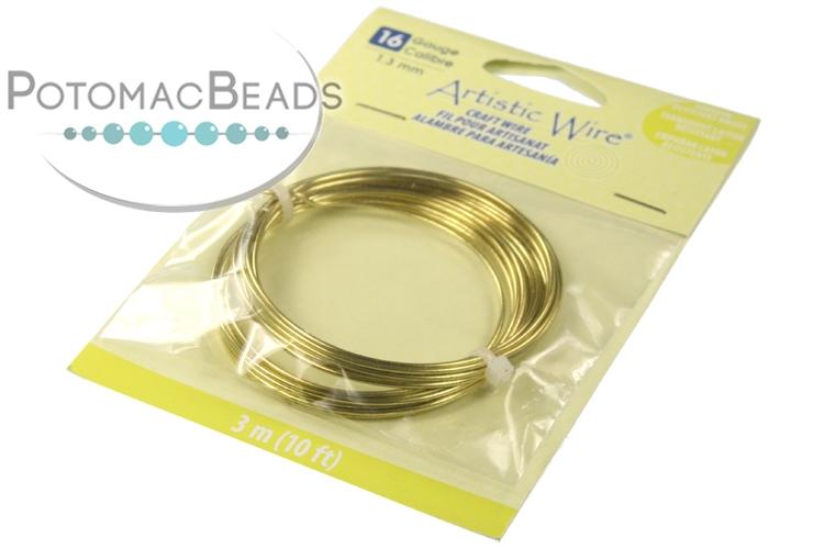Artistic Wire 16g Non-Tarnish Brass