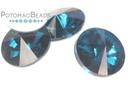 Potomac Crystal Rivoli - Blue Zircon 12mm Pack of 20