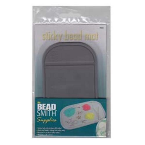"""Sticky Bead Mat Grey 3.25x5.5"""""""