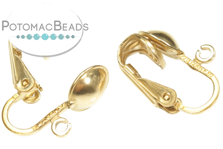 Clip-on Earrings Gold-Filled