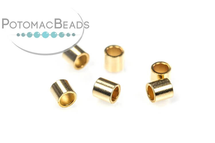 Crimp Beads 3mm Gold-Filled