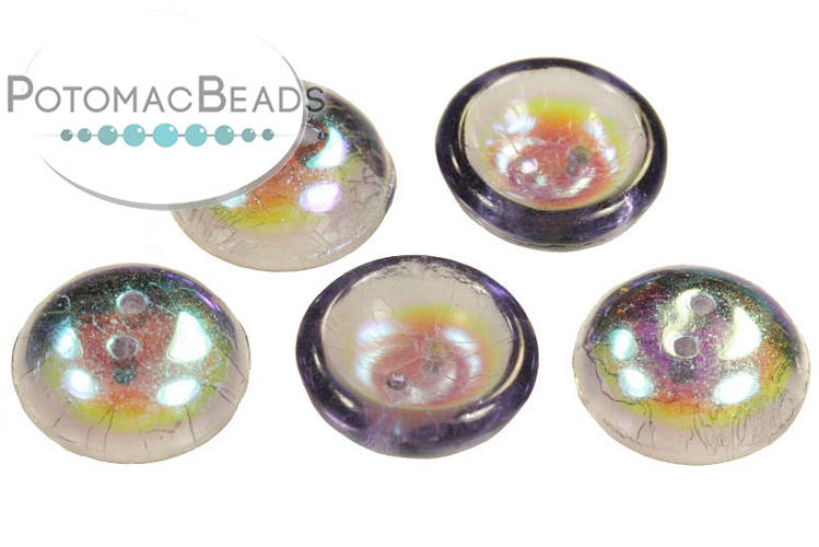 Cup Buttons - Light Violet AB (30 pack)