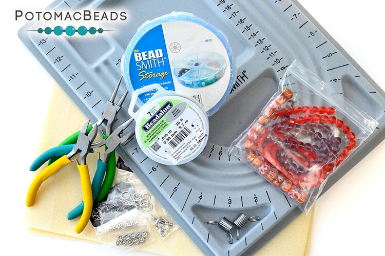 Starter Kit - Beginner Beading Supplies (Stringing)