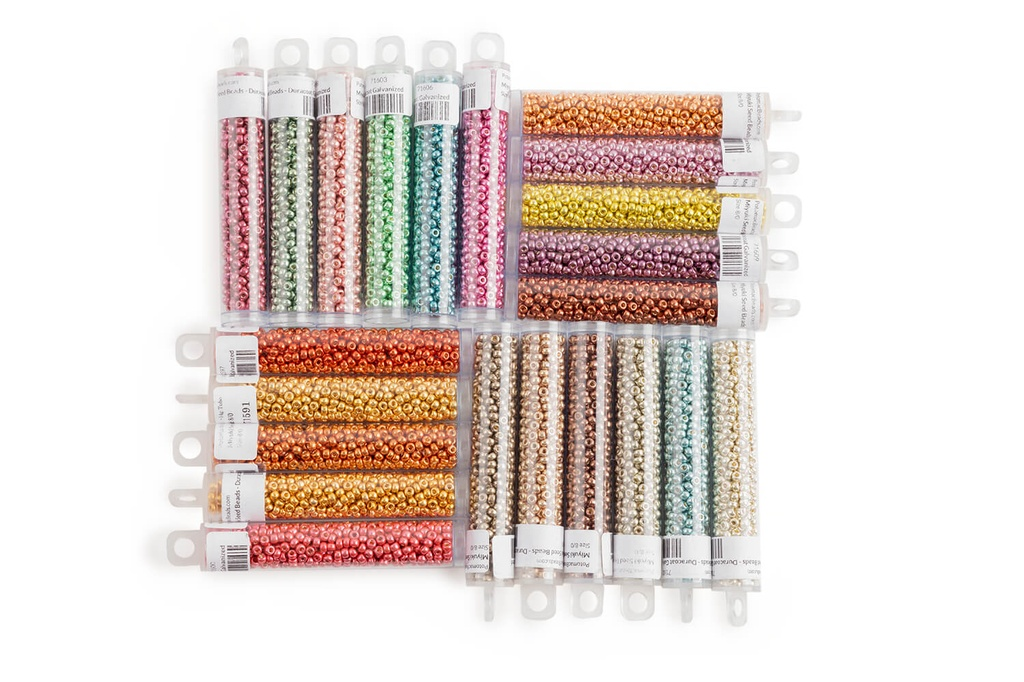 Miyuki Collection - All Duracoat Galvanized Colors (22 Colors) 8/0