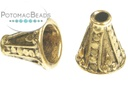 Bali End Cone Antique Gold