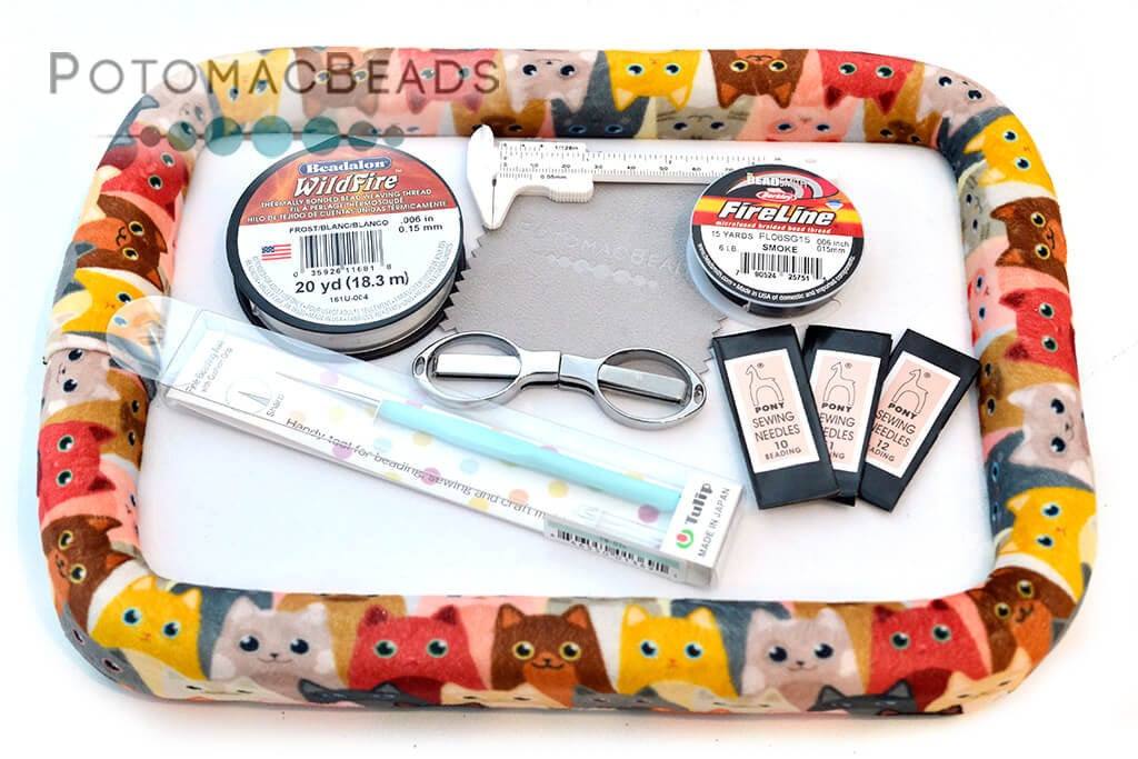 Kit - Bead On It Board Gift Collection - Curious Kittens
