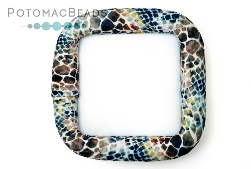 "Bead On It Board - Sassy Snakeskin (6x6"" Square)"