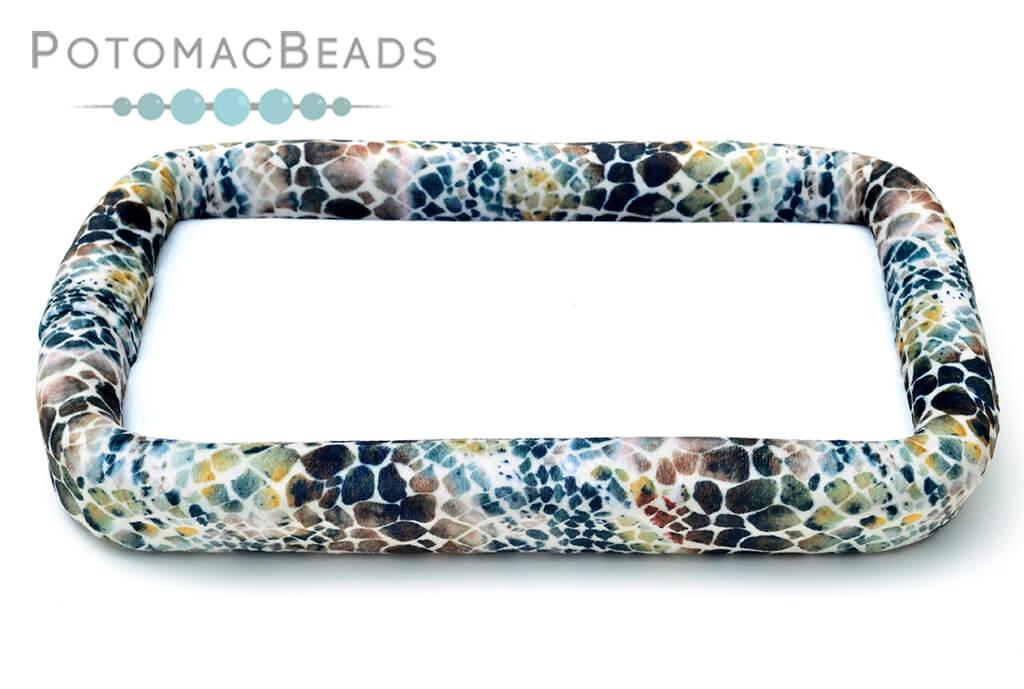 """Bead On It Board - Sassy Snakeskin (6x11"""" Rectangle)"""