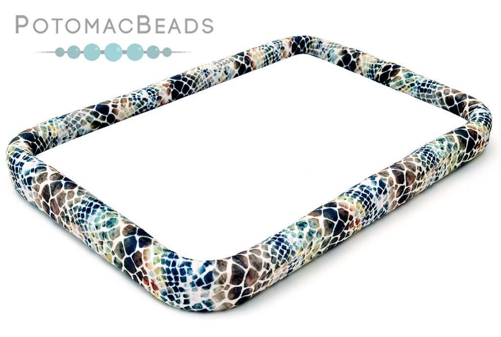 """Bead On It Board - Sassy Snakeskin (11x17"""" Rectangle)"""