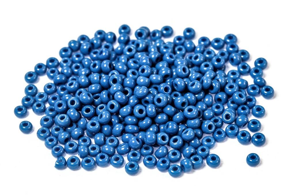 Czech Seed Beads - Opaque Denim 11/0 (Factory Pack)