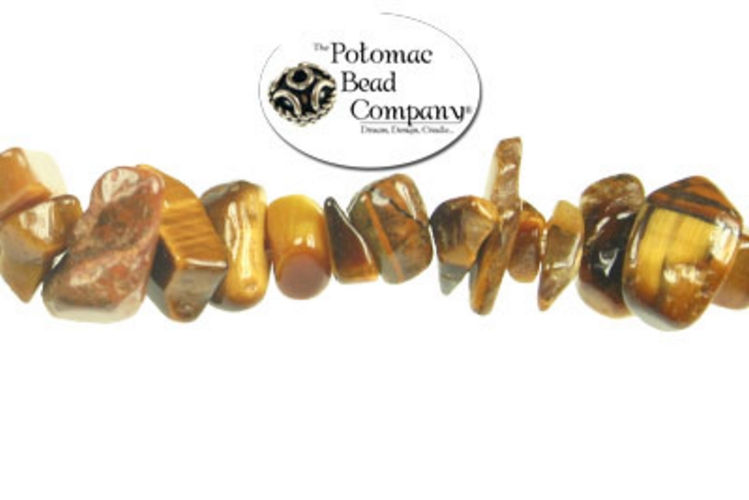 Gemstones - Tigereye Chip Beads