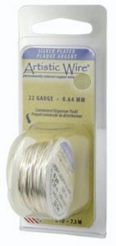 Artistic Wire 18g Non-Tarnish Silver