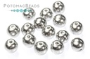 RounDuo Beads - Crystal Labrador Full (Pack of ~75) 5mm