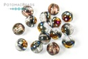RounDuo Beads - Crystal Sliperit (Pack of ~75) 5mm