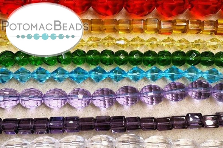 A Gobi Crystal Clearance Pack (30 strands of beads)