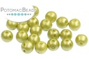 RounDuo Beads - Pastel Lime (Factory Pack of 600) 5mm (closeout)