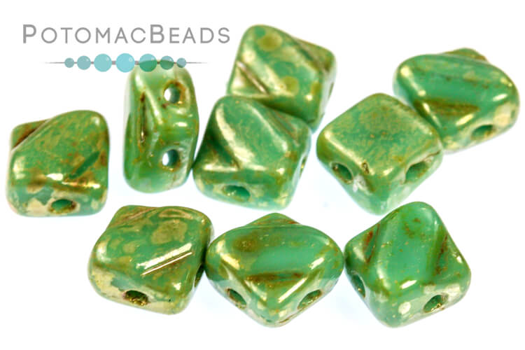 Silky Beads - Jade Picasso