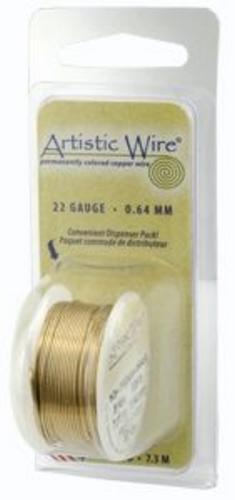 Artistic Wire 24g Non-Tarnish Brass