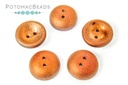 Cup Buttons - Crystal Sunset Matted Full (5 pack)