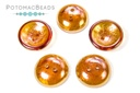 Cup Buttons - Topaz Light Apricot Full (5 pack)