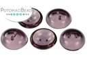 Cup Buttons - Amethyst (5 pack)