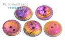 Cup Buttons - Etched Crystal Sliperit Full (5 pack)
