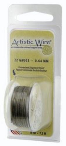 Artistic Wire 24g Antique Brass