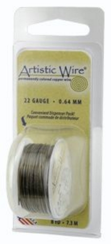 Artistic Wire 24g Antique Brass