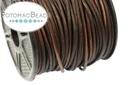 Leather Cording Antique Brown 1.5mm
