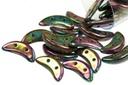 Crescent Beads - Purple Iris 3x10mm
