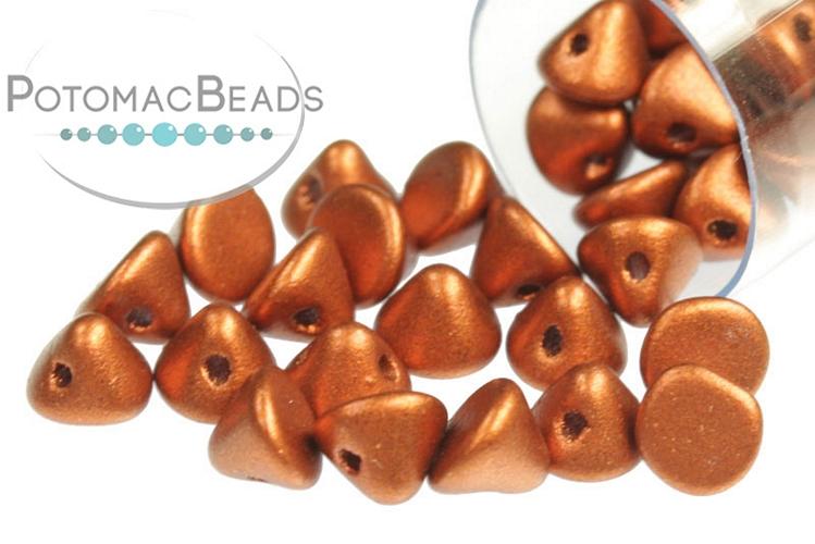 Button Bead - Copper 4mm