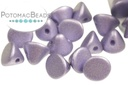 Button Bead - Metallic Violet 4mm