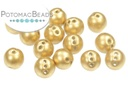 RounTrio Beads - Aztec Gold (Pack of 300) 6mm