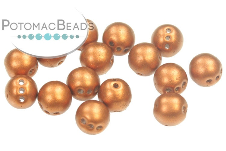 RounTrio Beads - Copper (Pack of 300) 6mm