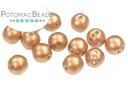 RounTrio Beads - Vintage Copper (Pack of 300) 6mm