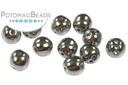RounTrio Beads - Crystal Full Chrome (Factory Pack) 6mm