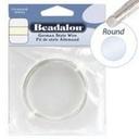 Beadalon Half Hard Wire 22g Silver