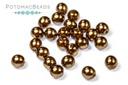 Czech Pearls - Antique Gold 3mm