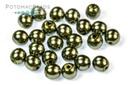 Czech Pearls - Light Green Shiny 3mm