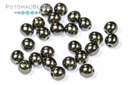 Czech Pearls - Charcoal Shiny 3mm