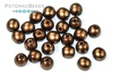 Czech Pearls - Brown Satin Matted 3mm