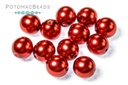 Czech Pearls - Molton Red Shiny 6mm