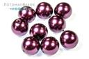 Czech Pearls - Purple Shiny 8mm