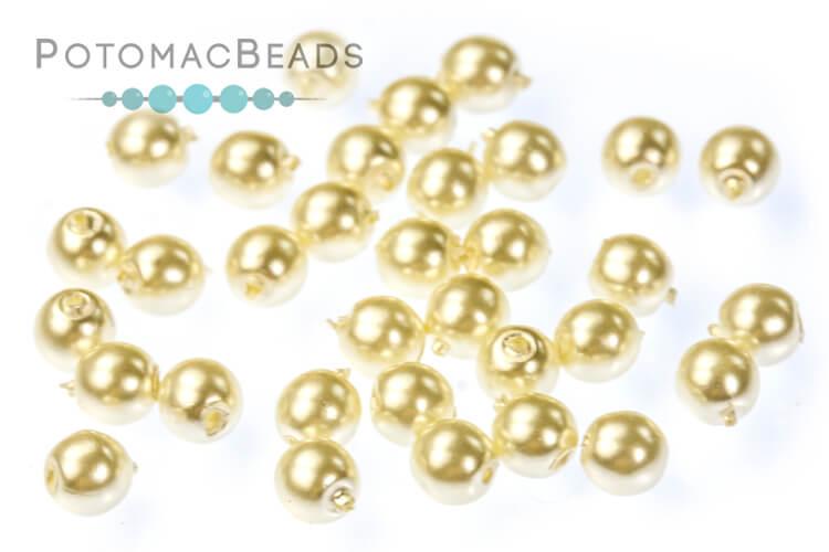 Czech Pearls - Light Cream 3mm
