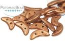 Crescent Beads - Metallic Copper 3x10mm