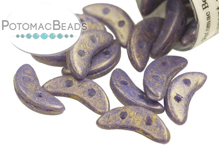 Crescent Beads - Pacifica Elderberry 3x10mm