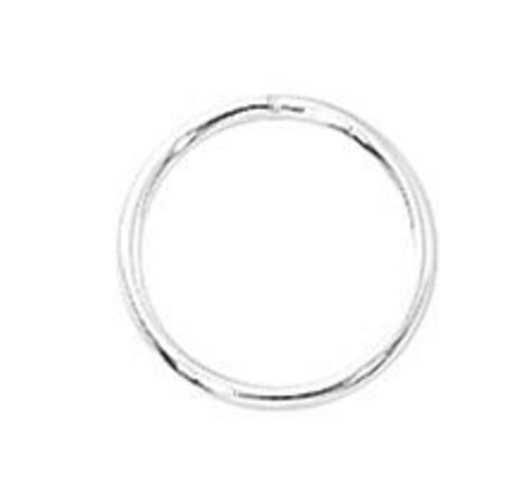 Closed Rings 19G Sterling Silver